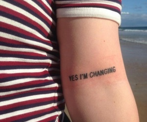 tattoo, change, and quotes image