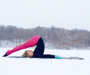 fitness, snow, and sport image