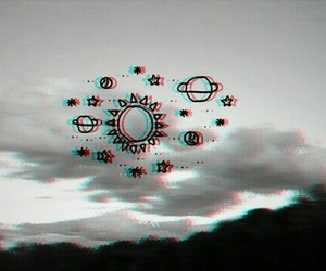 3d, black, and clouds image