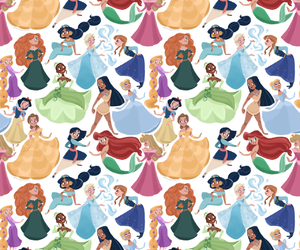 disney, princess, and princesas image