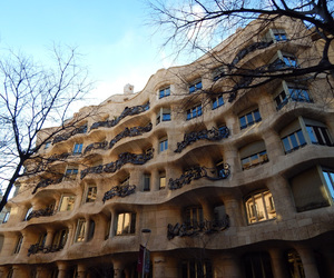 Barcelona and Gaudi image