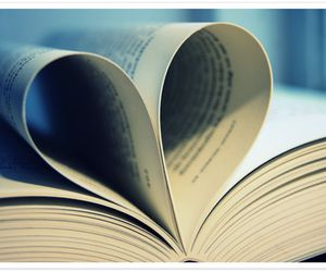 book, heart, and harry image