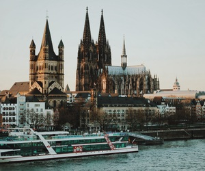 germany, koln, and cologne cathedral image