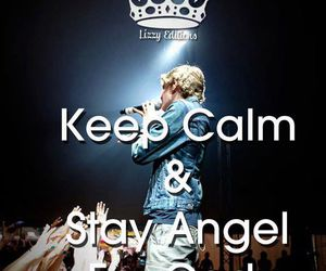 angel, simpsonizer, and keep calm image