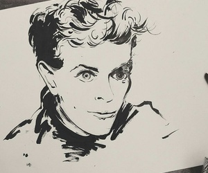 david bowie, dessin, and draw image