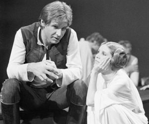 star wars, harrison ford, and han solo image