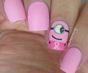 nails, girl, and minions image