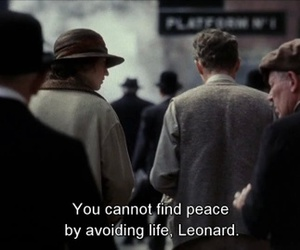 life, peace, and quotes image
