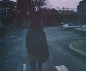 girl, grunge, and dark image