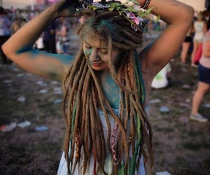 aa, dreads, and hippie image