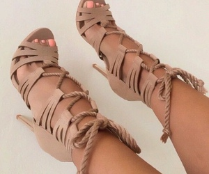 fashion, shoes, and girls image