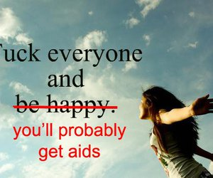 aids, lol, and be image