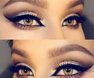 eyes, beautiful, and eyeliner image