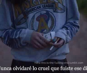 frases, cruel, and never image