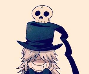 undertaker, kuroshitsuji, and anime image