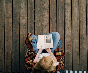 books, hipster, and peace image