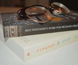 book, books, and glasses image