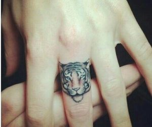 awesome, hand, and tattoo image