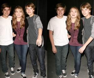 debby ryan, cole sprouse, and dylan sprouse image