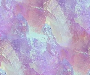 crystal, pink, and pastel image