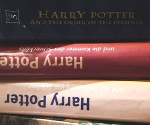 harrypotter, books, and love image