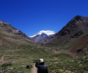 aconcagua, argentina, and mountains image