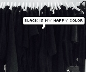 black, color, and all black image