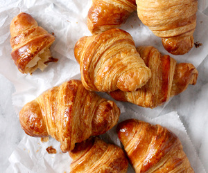 croissant, food, and breakfast image