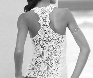 fashion, summer, and lace image