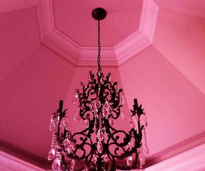 pink and ceiling image