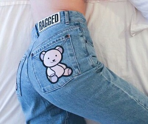 jeans and bear image