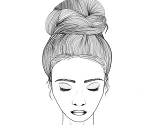 outline, outlines, and girl image