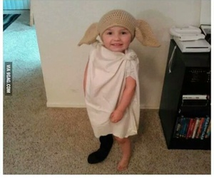 harry potter, dobby, and cute image