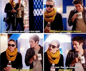 the flash, snowbarry, and barry allen image