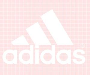 adidas, grunge, and pink image