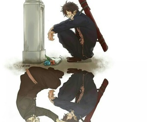 anime, quotes, and blue exorcist image