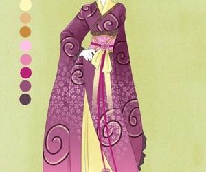 anime and dress image