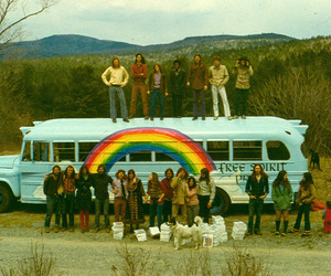 hippie, indie, and peace image