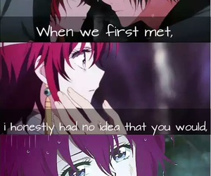 anime, akatsuki no yona, and quotes image