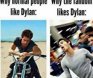 dylan o'brien, teen wolf, and fandom image