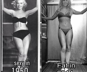 sexy, 1950, and 2014 image