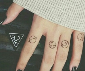 hipster, vintage, and tattos image