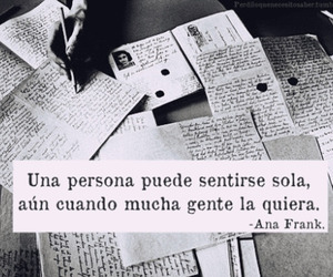 frases, ana frank, and soledad image