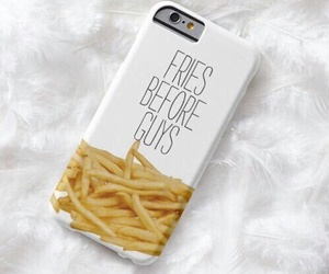 fries, iphone, and case image