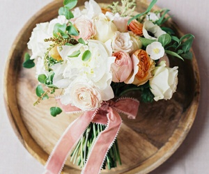 bouquet, details, and flowers image