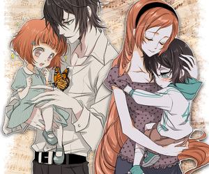 anime, bleach, and children image