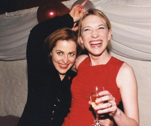 90s, cate blanchett, and gillian anderson image