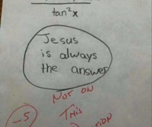 funny, lol, and jesus image