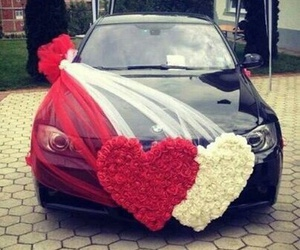 car, wedding, and tetovo image