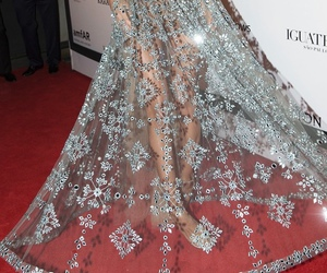 dress, luxury, and model image